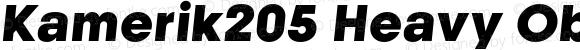 Kamerik205 Heavy Oblique