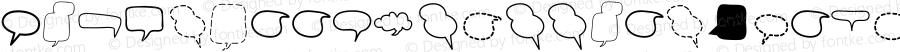 Alin Speech Bubbles 2 Regular Version 001.000
