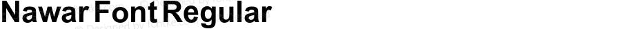 Nawar Font Regular Version 1.001;PS 001.001;hotconv 1.0.70;makeotf.lib2.5.58329
