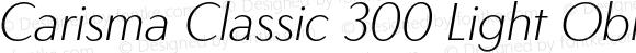 Carisma Classic 300 Light Oblique