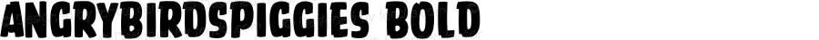 AngryBirdsPiggies Bold Version 1.000;PS 001.001;hotconv 1.0.56