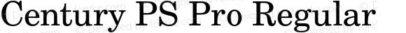 Century PS Pro Regular Version 1