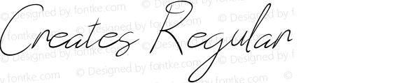Creates Regular