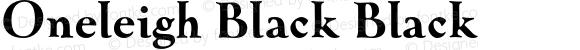 Oneleigh Black Black