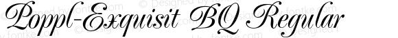 Poppl-Exquisit BQ