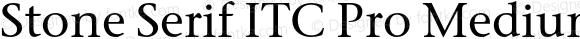 Stone Serif ITC Pro