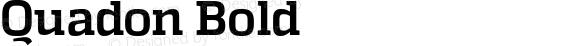 Quadon Bold