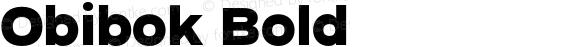 Obibok Bold