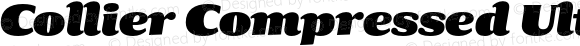 Collier Compressed Ultra Italic