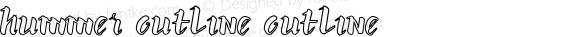 hummer outline outline