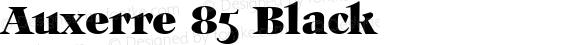 Auxerre 85 Black