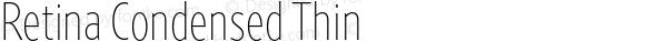 Retina Condensed Thin