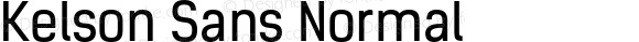 Kelson Sans Normal