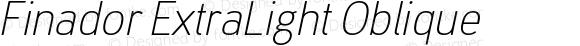 Finador ExtraLight Oblique