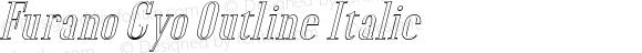 Furano Gyo Outline Italic