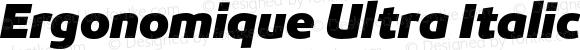 Ergonomique Ultra Italic