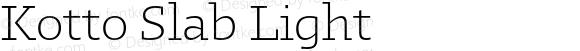 Kotto Slab Light