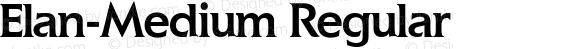 Elan-Medium Regular 0.0