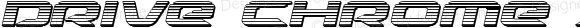 Drive Chrome Italic