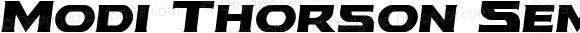 Modi Thorson Semi-Italic Semi-Italic