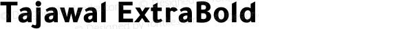Tajawal ExtraBold