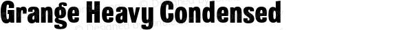 Grange Heavy Condensed