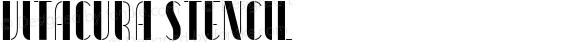 Vitacura Stencil