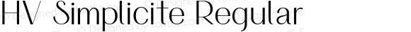 HV Simplicite Regular