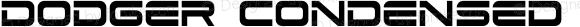Dodger Condensed Condensed