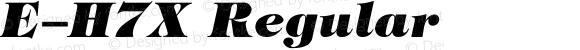 E-H7X Regular