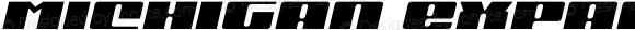 Michigan Expanded Semi-Italic Expanded Semi-Italic