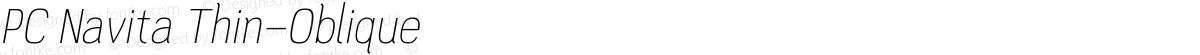 PC Navita Thin-Oblique
