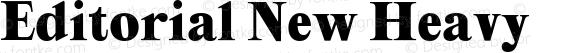 Editorial New Heavy
