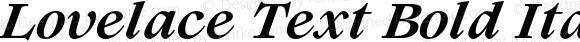 Lovelace Text