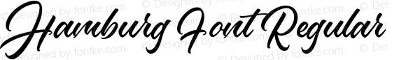 Hamburg Font