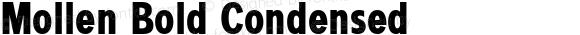 Mollen Bold Condensed