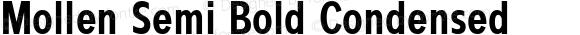 Mollen Semi Bold Condensed