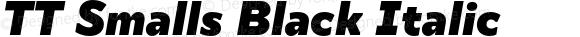 TT Smalls Black Italic