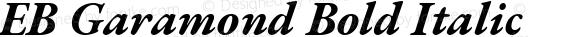 EB Garamond Bold Italic