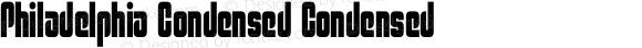 Philadelphia Condensed Condensed