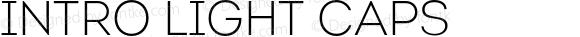 Intro Light Caps