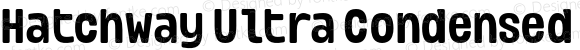 Hatchway Ultra Condensed Semi Bold