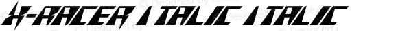 X-Racer Italic Italic
