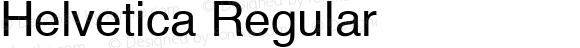 Helvetica Regular