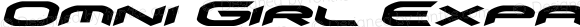 Omni Girl Expanded Italic