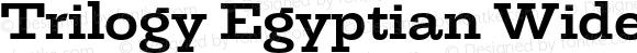 TrilogyEgyptianWide-Bold