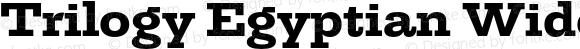 TrilogyEgyptianWide-ExtraBold
