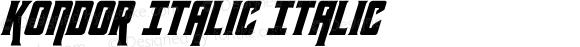 Kondor Italic Italic