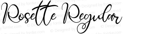 Rosette Regular