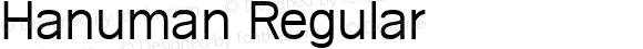Hanuman Regular
